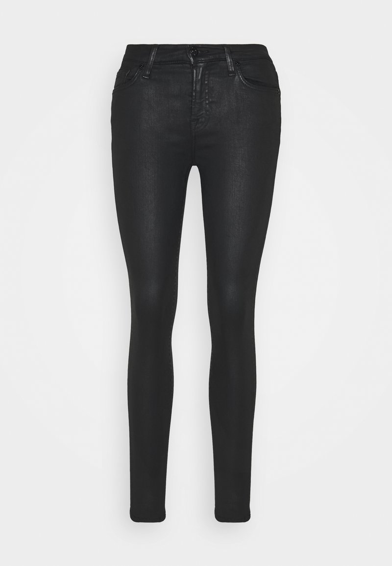 7 for all mankind - THE SKINNY - Jeans Skinny Fit - black