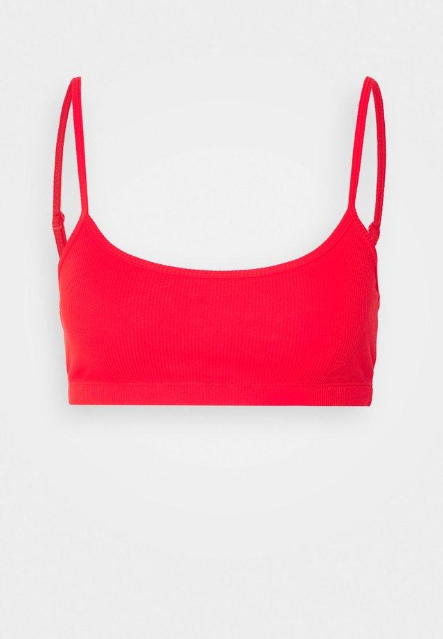 SOFT BRA - Biustonosz bustier - bright red