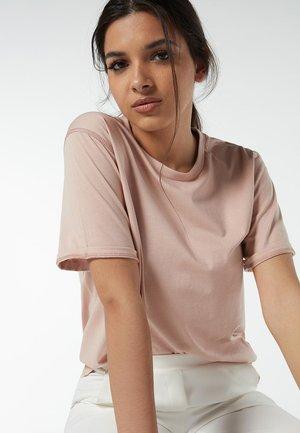 AUS SUPIMA® - Basic T-shirt - rosa - 349i - pink sand
