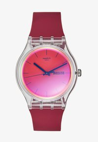 Swatch - POLARED - Hodinky - dunkelrot - 1