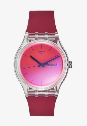 POLARED - Watch - dunkelrot