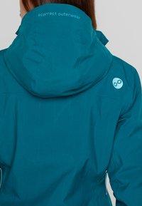 PYUA - BLISTER - Snowboard jacket - petrol blue - 5