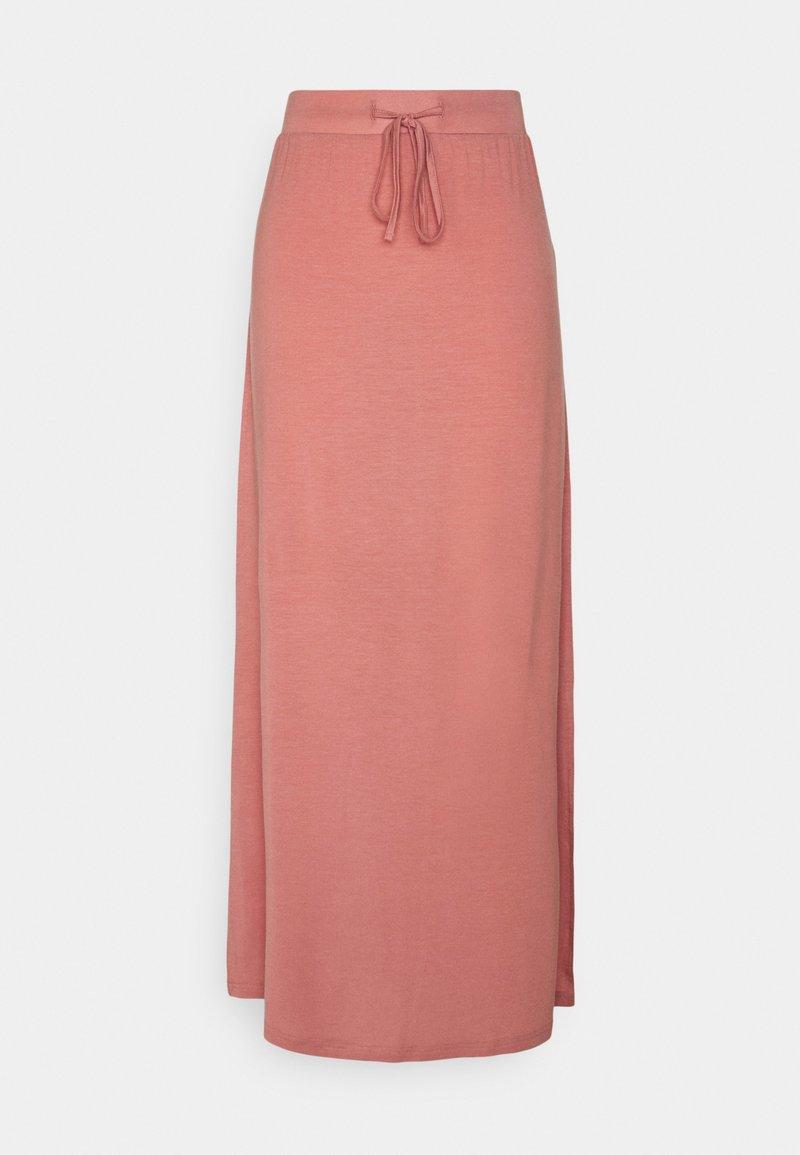 Vero Moda Tall - VMAVA ANCLE SKIRT - Maxi skirt - old rose