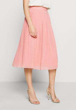 PLEATED SKIRT - A-line skirt - pink