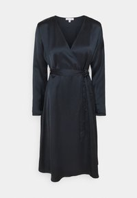 NU-IN - BELTED WRAP MIDI DRESS - Cocktail dress / Party dress - black - 5