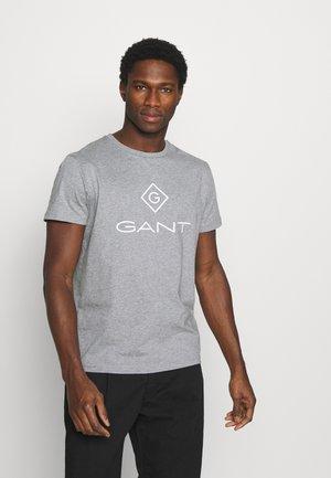 LOCK UP  - T-shirt con stampa - grey melange