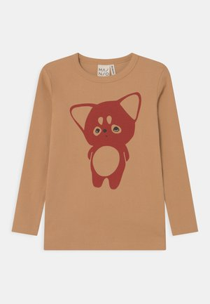 LITTLE FOX UNISEX - Top sdlouhým rukávem - sand