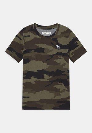 FASH - Camiseta estampada - khaki