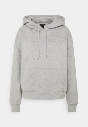 ODA - Jersey con capucha - grey melange