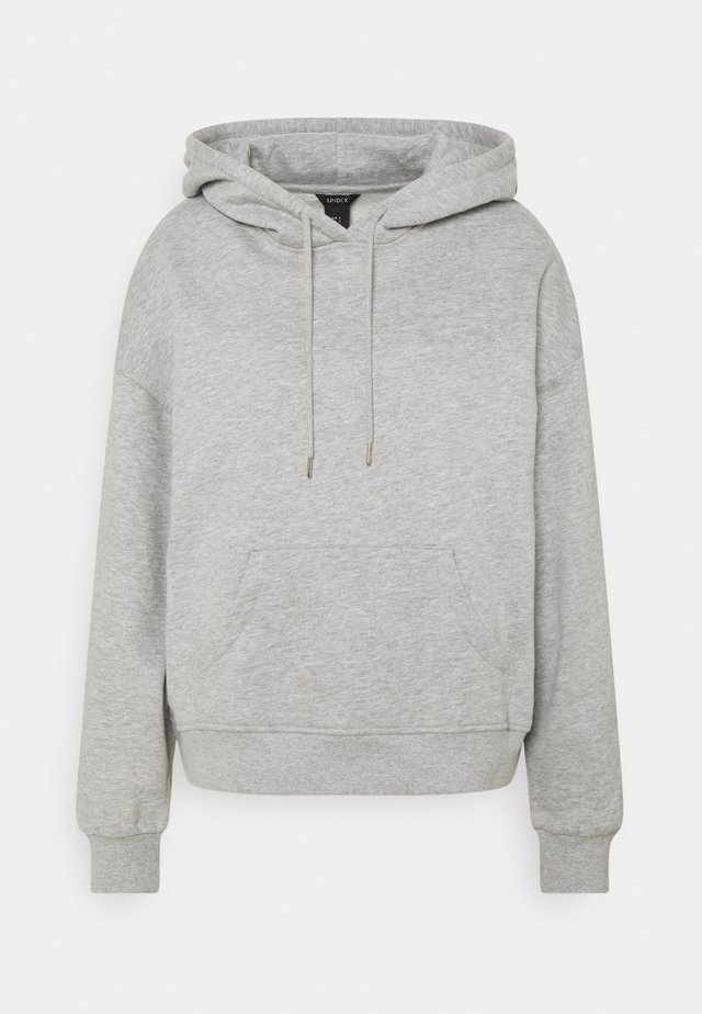 ODA - Huppari - grey melange