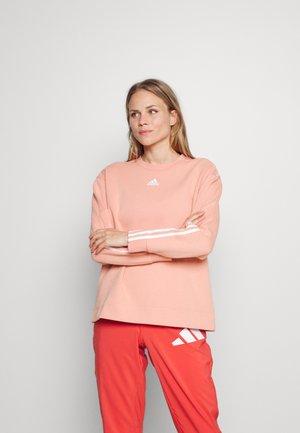 Sweatshirt - ambient blush/white