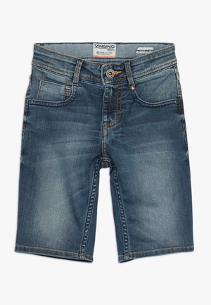 CHARLIE - Denim shorts - blue vintage