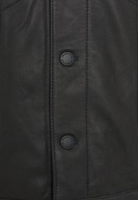 Trussardi - Leather jacket - black - 2