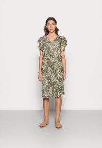 Saint Tropez - TISHA DRESS - Day dress - army green - 0