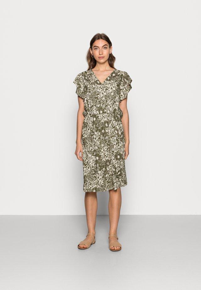 TISHA DRESS - Day dress - army green