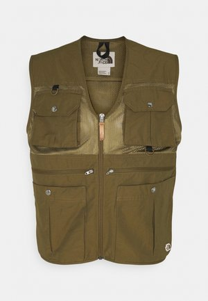 CADERO VEST - Waistcoat - military olive