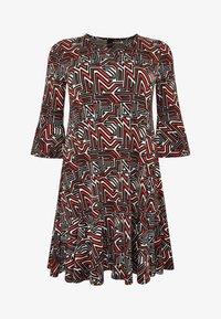 Yoek - Day dress - red - 3