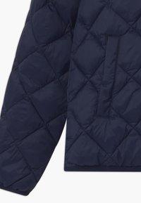 GANT - THE WEIGHT DIAMOND PUFFER - Winter jacket - evening blue - 3