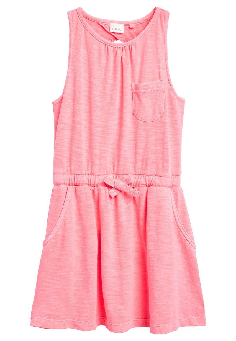 Next - Sukienka z dżerseju - pink