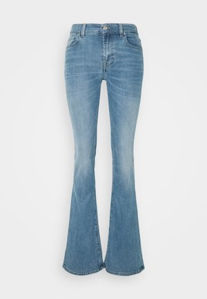 KIND TO THE PLANET BETTER DAYS - Jeans Bootcut - light blue