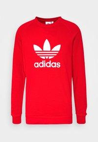 adidas Originals - TREFOIL CREW UNISEX - Sweatshirt - red - 3