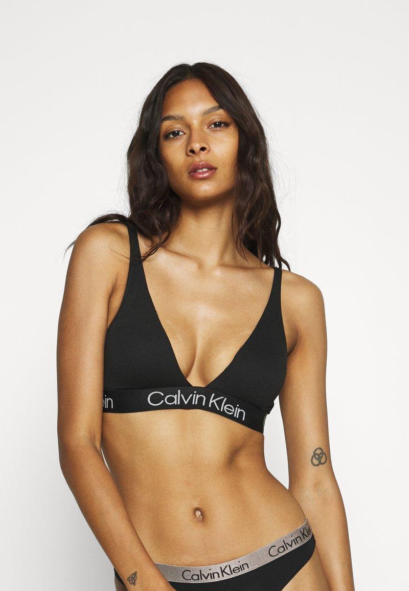 Calvin Klein Underwear - MODERN STRUCTURE - Sujetador sin aros - black