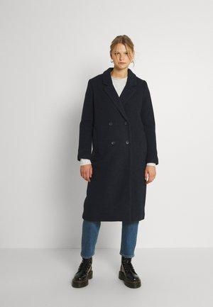 Klasyczny płaszcz - navy