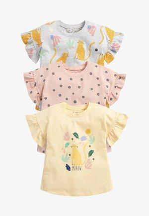 3 PACK - Print T-shirt - pink