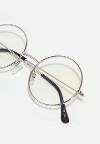 Pier One - BLUE LIGHT GLASSES - Jiné doplňky - silver-coloured - 2