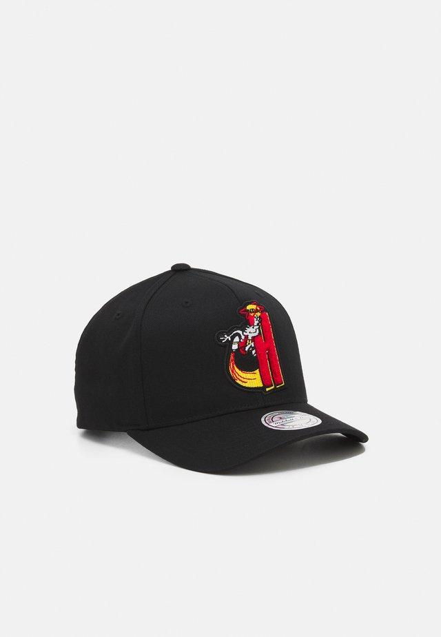 NBA HOUSTON ROCKETS LETTERMAN - Squadra - black