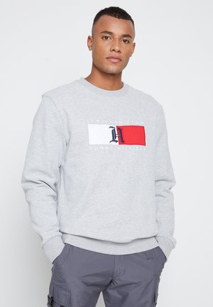 LEWIS HAMILTON UNISEX LOGO CREW NECK - Sweatshirt - medium grey heather