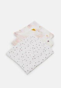 Lässig - HEAVENLY SOFT SWADDLE LITTLE WATER SWAN 3 PACK UNISEX - Muslin blanket - purple - 0