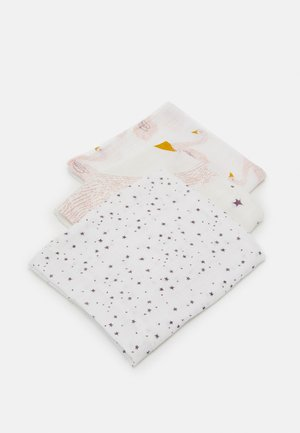 HEAVENLY SOFT SWADDLE LITTLE WATER SWAN 3 PACK UNISEX - Muslintæppe - purple