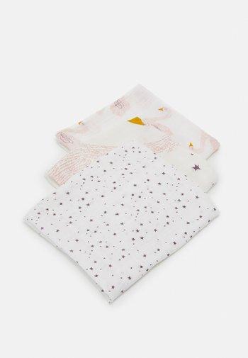 HEAVENLY SOFT SWADDLE LITTLE WATER SWAN 3 PACK UNISEX - Muslin blanket - purple