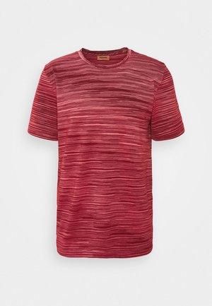 SHORT SLEEVE - T-shirt imprimé - red