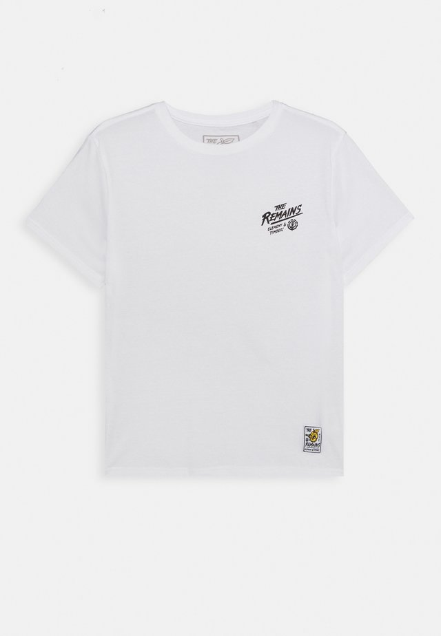 LIBERTY BOY - T-shirt imprimé - optic white