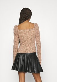 Missguided - DITSY MILKMAID SLIT CUFF - Blouse - multi - 2