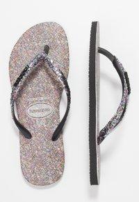 Havaianas - SLIMCARNAVAL - T-bar sandals - black - 0