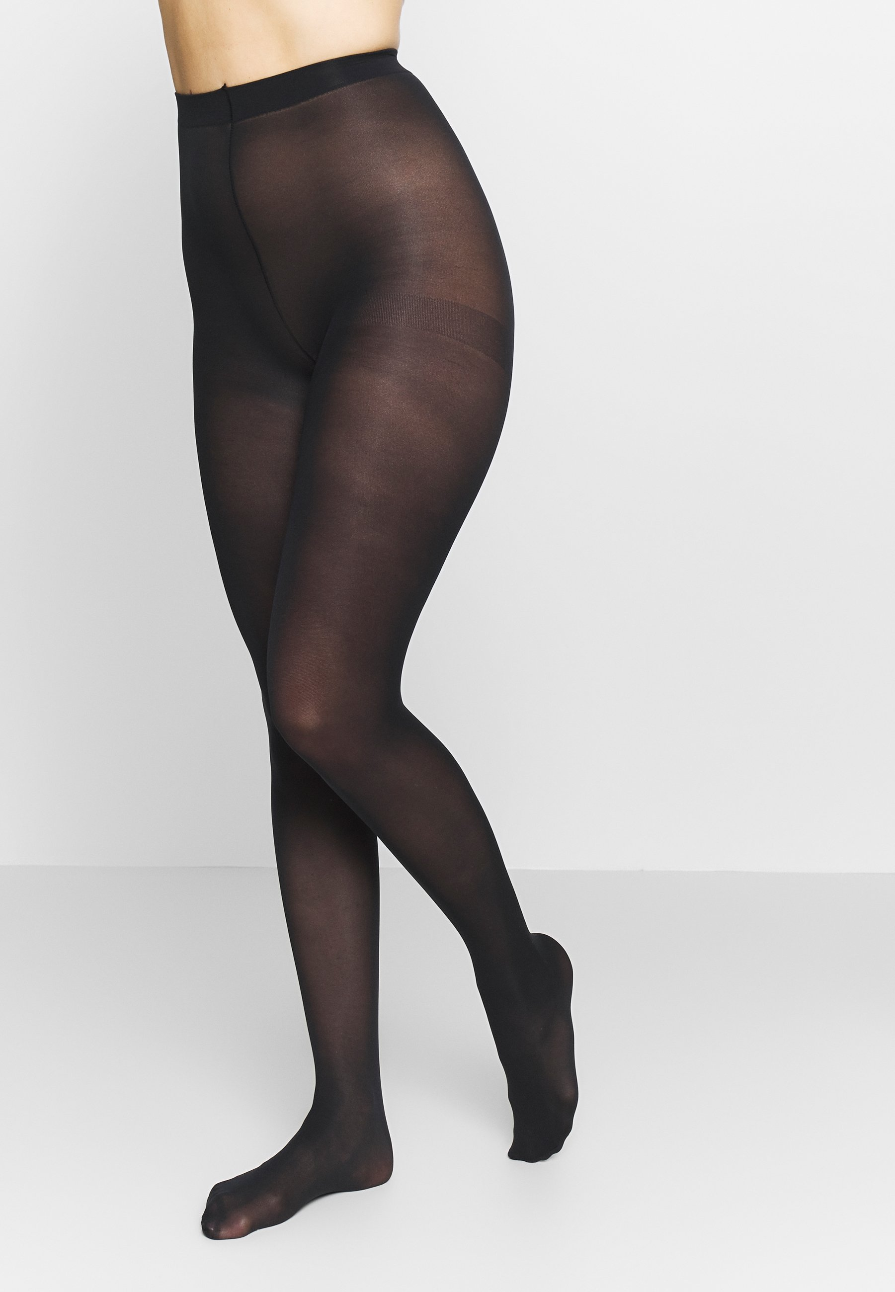 Femme SEMI OPAQUE THIGHS BEAUTY 2 PACK - Collants