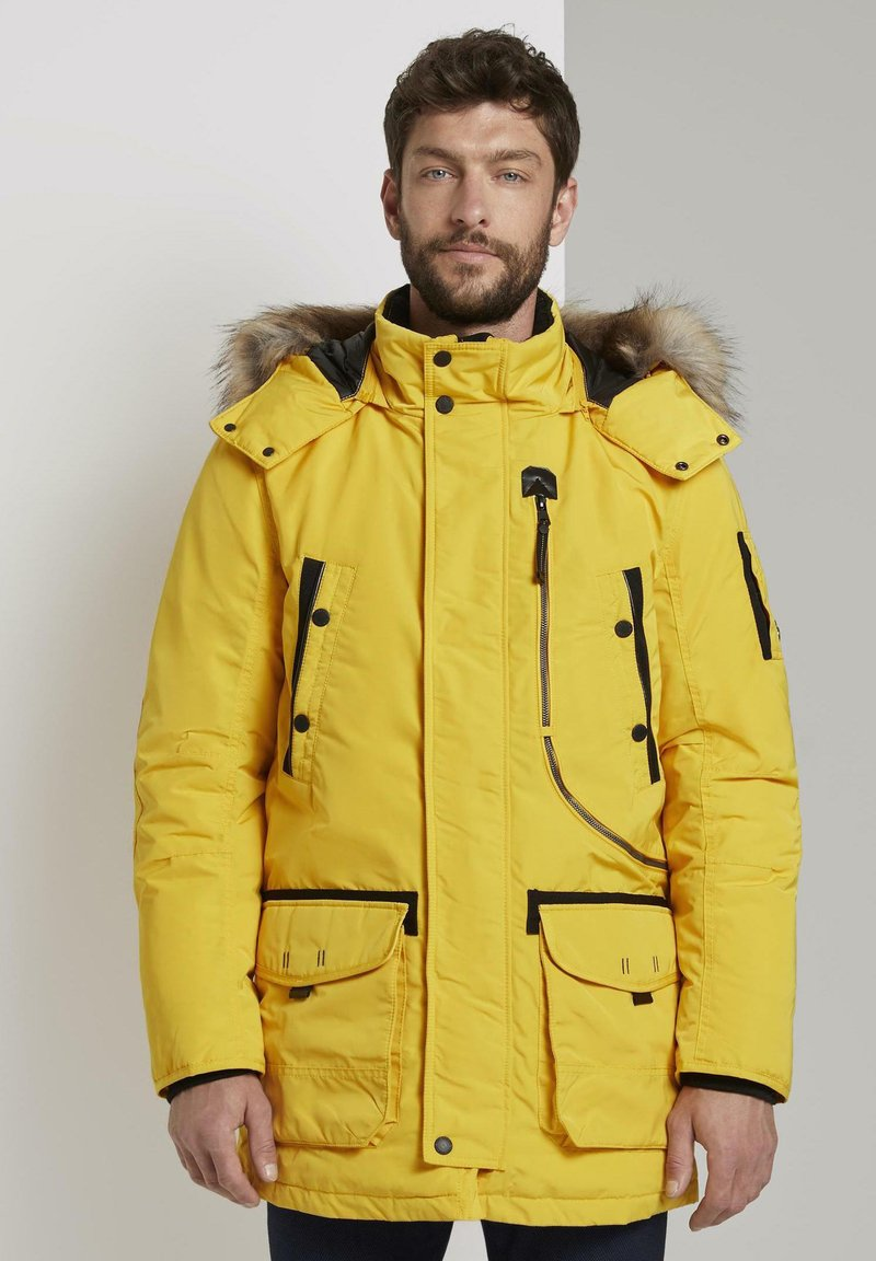 TOM TAILOR - Winter coat - californian yellow