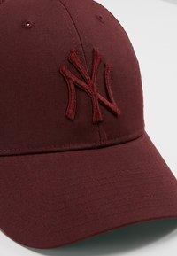 '47 - NEW YORK YANKEES BRANSON UNISEX - Cap - dark maroon - 4