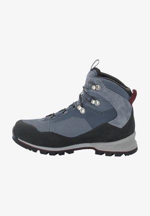 Hiking shoes - pebble grey / burgundy