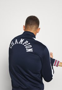 Champion - ROCHESTER RETRO BASKET FULL ZIP - Träningsjacka - dark blue/white - 6
