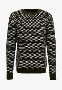Only & Sons - ONSZIGOR CHUNKY CREW NECK - Jumper - olive night - 3