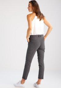 Karen by Simonsen - SYDNEY  - Trousers - grey melange - 2