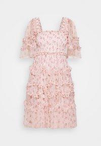 Needle & Thread - BIJOU ROSE MINI DRESS - Cocktailklänning - paris pink - 4