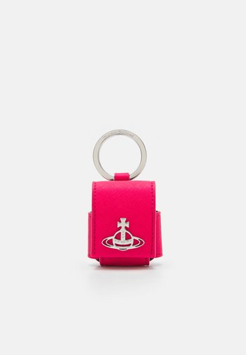 DERBY SMALL ROUNDED AIRPOD CASE - Andre accessories - pink