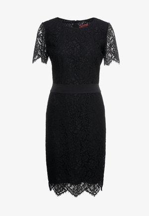 KLEAS - Shift dress - black