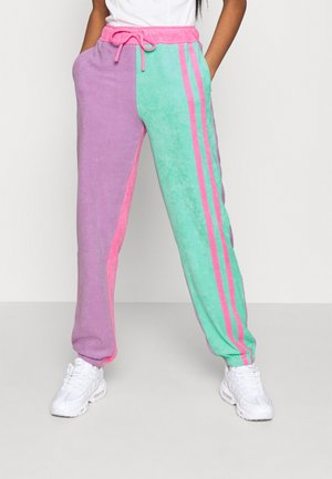 TOWELLING JOGGERS - Pantalones deportivos - multi