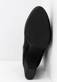Anna Field - Kotníková obuv na vysokém podpatku - black - 6
